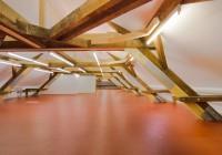 Endter Architektur nach Denkmalschutzsanierung: Gerichtsgebäude bei München, Dachstuhl