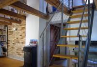 Endter Architektur nach energetischer Sanierung: Altstadthaus, Galerie Dachgeschosswohnung