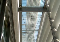 Endter Architektur nach energetischem Sanieren: Bürogebäude aus den 1960er-Jahren, Fassadendetail