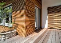 Endter Architektur nach energetischer Sanierung: alte Villa, Fassendetail Erker
