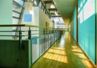 Endter Architektur im öffentlichen Bau: Neubau eines Amtsgebäude bei München, Büroflur