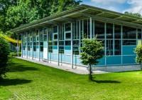 Endter Architektur im öffentlichen Bau: Freibad, Technikgebäude