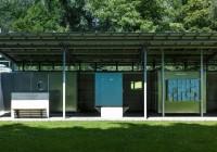 Endter Architektur im öffentlichen Bau: Freibad, Umkleiden