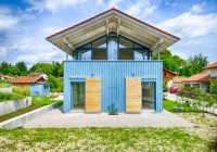Endter Architektur im Wohnungs- und Hausbau: Ferienhaus im Chiemgau in Holzständerbauweise