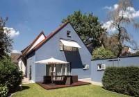 Endter Architektur im Haus- und Wohnungsbau: moderner Hausanbau in der Südansicht
