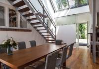 Endter Architektur im Wohnungs- und Hausbau: moderner Anbau (Innenraum)