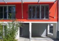 Endter Architektur im Wohnungs- und Hausbau: Mehrfamilienhaus, Fassaden-, Fenster- und Sonnenschutzdetail